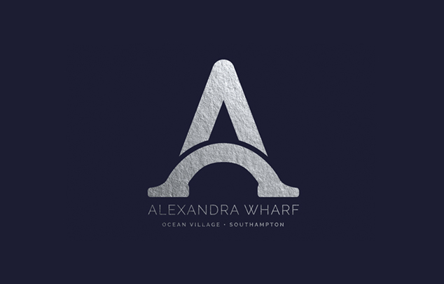 Alexandra Wharf - Romilly - corporate branding and marketing material design